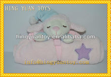 ovejas polar manta de impresión en color rosa
