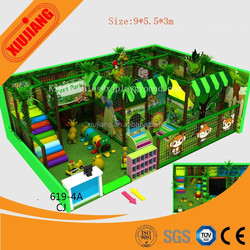 Interesting Plastic Jungl Gym Play Park For Children