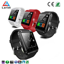 Calorie and heart rate measuring watch health care products for ios and adroid bluetooth smart watch U8