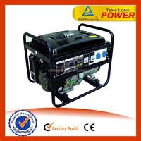 ISO CE certificated Single Phase 5kva honda generator