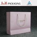 cebra de color rosa personalizado de regalo de papel bolsas de venta al por mayor