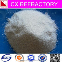 Refractory pure silica sand paint