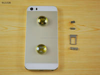 Genuine For iPhone 5S Back cover gold