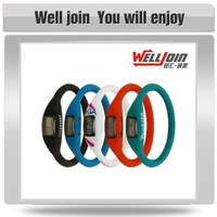 Made in China good quality proper price silicone wristband watch