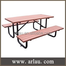 TB268 Outdoor Wood Picnic Table and 4 Seater Bench Furniture Combination