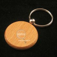 Blank Wood Keyring