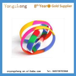 made in china silicone bracelsts/silicone rubber bands