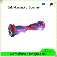 Customized No Foldable and 1.5-2hour Charging Time self balancing scooter