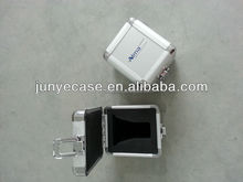 small aluminium alloy boxes with silver color