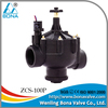 BONA Valve ZCS-100P 24VAC 2/ 3 way Nylon Irrigation Solenoid Valve with Flow Control and Manual overide