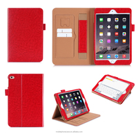360 Degree Protective Stand PU Leather Tablet Case For ipad mini 4