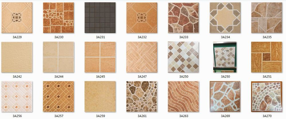 Floor tile paint colours