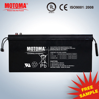12v 250ah 260ah UPS battery Solar gel deep discharge battery