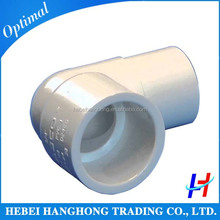 200 mm 45 degree pvc pipe fitting male/female elbow