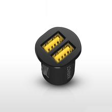 super mini dual usb caricabatteria da auto