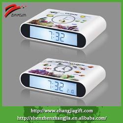 2015 Decorative Creative Luminous Table Rotate Flip Alarm Clock