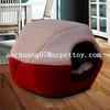 foldable cotton cat nest, fleece cat house