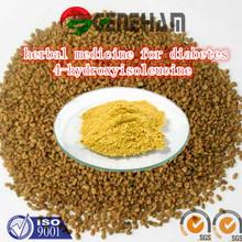 natural herbal medicine for diabetes/fenugreek seed extract/4-hydroxyisoleucine