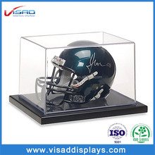 China supplier counter acrylic helmet display case