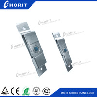 Button Type Small Distribution Box Lock Toolbox Door Key Electrical Cabinet Lock
