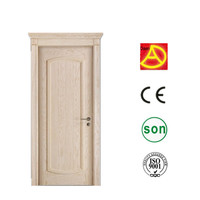 Nigeria style cheap price pvc wooden door with CE ISO SONCAP made in china door DA-221