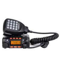 JT-6188 Dual Band Mini VHF 25Watt UHF 20Watt 200 Channels Mobile Two Way Radio
