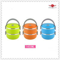 Eco-Friendly,Stocked Feature and Metal Material stainless steel lunch box with lock