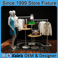 Clothing Display Fixtures,clothing store display design,fashional clothing display