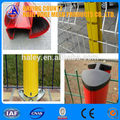 China alibaba fornecedor cerca post/mourão de aço preço/pvc mourão de aço revestido com iso9001, sgs