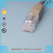 roll passing fluke testing utp cat 6 network cable for manufacture