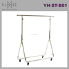 Ramie Hanger, Mannequin, Rack & Paper Products supplier: Movable Rack with Pulley for Clothing Display
