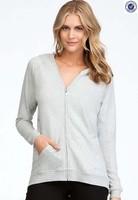 80% Cotton 20% Polyester Ladies Fleece Hoodie Wear