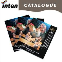folded color brochure printing