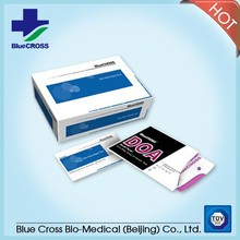 COC test urine drug screen rapid test with CE ISO mark