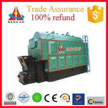Henganautomatic water and fire tube coal steam boiler for cleaning clothes machines in hospital