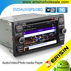 Erisin ES2301F 2 Din 7 Inch Touch Screen Car DVD Player for Connect 2006