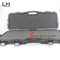 Portable Plastic sealed waterproof dry rifle gun case security safety precision equipment box with Foma military storage boxes