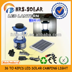 solar charger & camping led light/dynamo and solar camping light