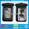 100% Sealed tpu waterproof lanyard pouch for samsung galaxy