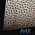中国建築装飾のために穴あきアルミシート