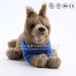 Child product plush lovely stuffed toys dog from china