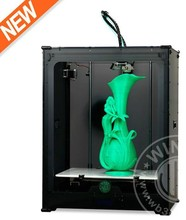 High speed Winbo 3D Printer Big Build Size 45*31*50 CM with 3 kg filament retail price USD2999/set