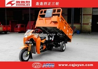 Three Wheel Motorcycle made in china/water cooling engine Hydraulic Lifter Tricycle HL300ZH-A15
