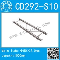 CD292-S(290*50) aluminium flat tuss, stage truss, roof truss system