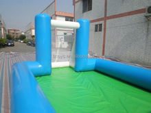 inflatable water football arena , LZ-253 inflatable football with two goals