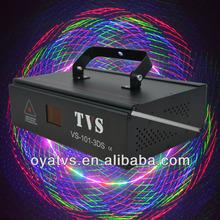 Music active 500mw 3D Beam RGB Laser Light for nightclub, Bar