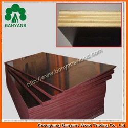 hot sale good quality melamine glue black film faced plywood