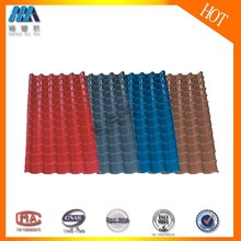 Hengsu building roof/plastic eaves wanael/PVC roof tile