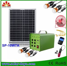 Solar System for Home Use with LED light&Mobile Phone Charger(CE&RoHs)