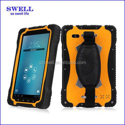 7inch rugged tablet android MTK6589 quad core 1GB+8GB NFC android4.2 IP67 TP70